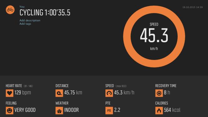 Cycling 2015-10-19