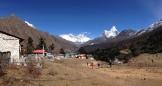 Views from Tengboche monastery